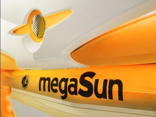 Горизонтальный солярий megaSun 6800 alpha hurricane